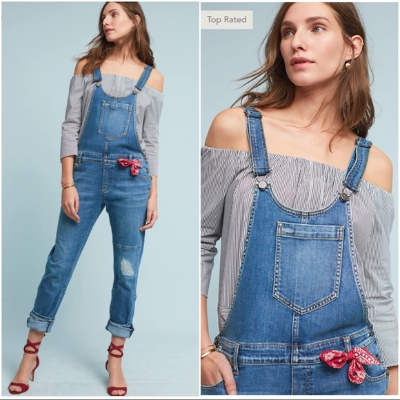 b5b64d6cdeb Top Rated Anthro Pilcro Faye Overalls